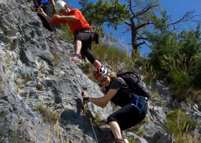 Kaiser-Max-Klettersteig ::: Zirl ::: Nähe Innsbruck ::: im Frü