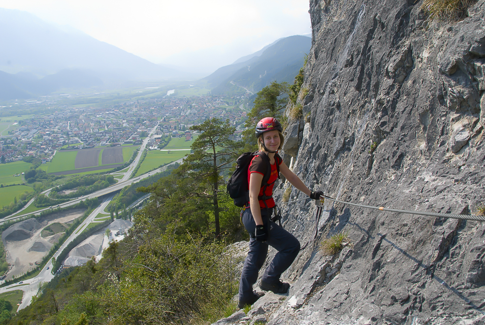 Kaiser Max Klettersteig ::: Martinswand ::: mit Susanne
